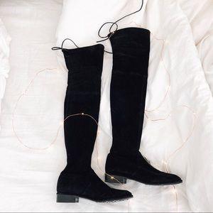Stuart Weitzman Lowland Boots Black